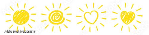 Photo  Sun Scribble