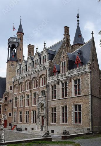 In de dag Brugge A Gothic building in Bruges
