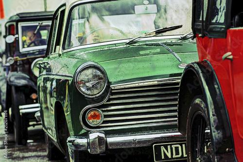 In de dag Vintage cars Classic Cars