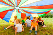 canvas print picture Rainbow children's hide-out