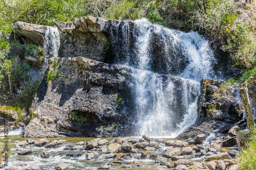Foto op Aluminium Zuid-Amerika land La Periquera waterfalls of Villa de Leyva Boyaca in Colombia South America