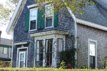 Weathered Clapboard Cape Cod H...