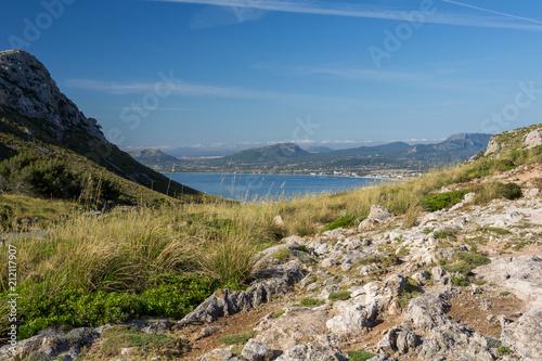 Fotografia, Obraz  Vue vers Port de Pollença depuis Formentor