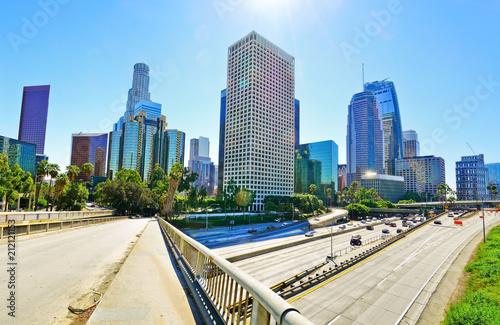 Fototapeta Los Angeles ulica-miasta-los-angeles