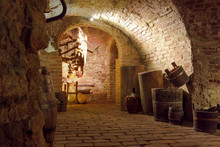 Vintage Wine Cellar Interiors:...