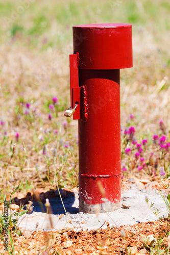 Fotografia, Obraz  tuyau de forage