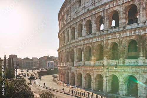 Photo  Rome, Colosseum at dawn
