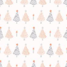 Festive Christmas Trees Candle...