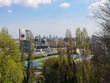 Milan aerial view. Milano city, Italy