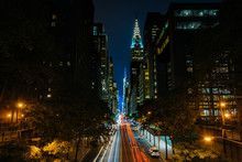 42nd Street At Night, Seen Fro...