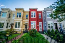 Row Houses In Shaw, Washington, DC