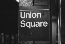 Union Square Subway Station Si...
