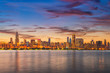 Chicago, Illinois, USA Lakefront Skyline