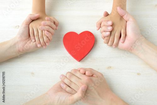 家族の絆イメージ