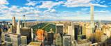 Fototapeta Nowy York - View of Manhattan from the skyscraper's observation deck. New York.