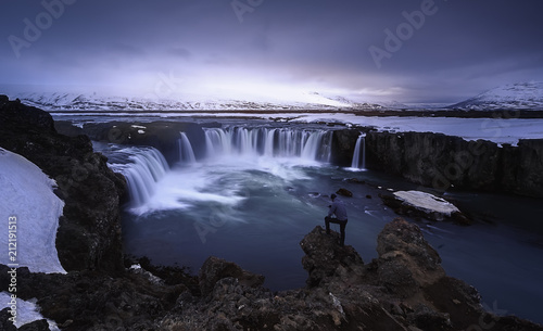 FotoMurales cascada de hielo, encuentra tu FotoMural con nuestro ...