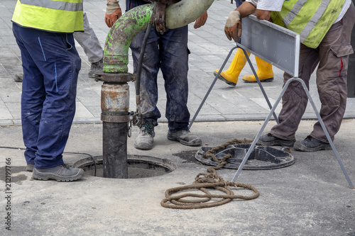 Photo  Sewer Lines Cleaning Service