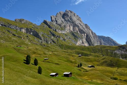 Photo  Naturpark Puez-Geisler; Cislesalpe; Geislergruppe; Dolomiten; Suedtirol;