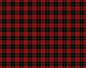 Red tartan seamless pattern