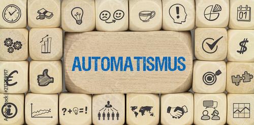Automatismus Canvas Print