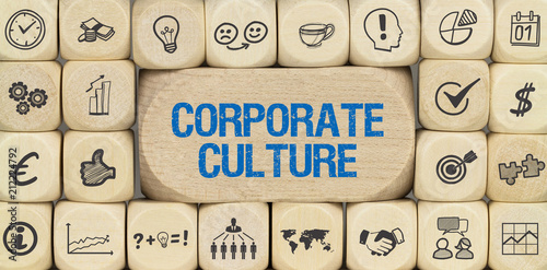 Leinwand Poster Corporate Culture