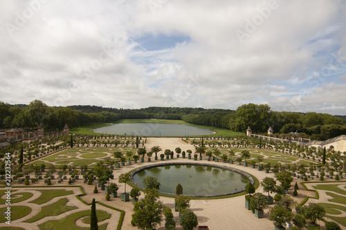 Stampa su Tela  residenza reale di Versailles del palazzo reale Parigi Francia