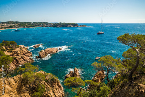 Photographie Beautiful coastline in Spain, Costa Brava