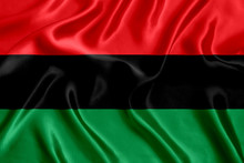 Flag Africans Silk