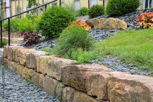 Modern Gestaltete Gartenanlage Im Zentrum Von Colmar Elsass Buy