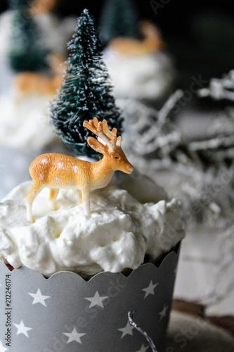Photo  Muffinki świąteczne