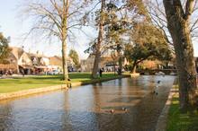 Bourton On The Water, Quaint C...