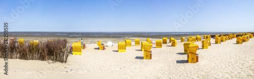 Staande foto Europa Cuxhaven, Duhnen, Döse, Strand