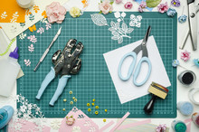 Multi-colored Paper Crafts On ...