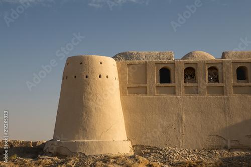 Tuinposter Vestingwerk Khanmalek Fort, Sistan and Baluchistan, Iran