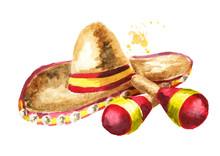 Cinco De Mayo Hat Sombrero And...