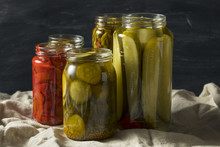 Homemade Pickled Vegetables In...