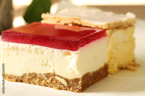 Papiers peints Dessert cheesecake