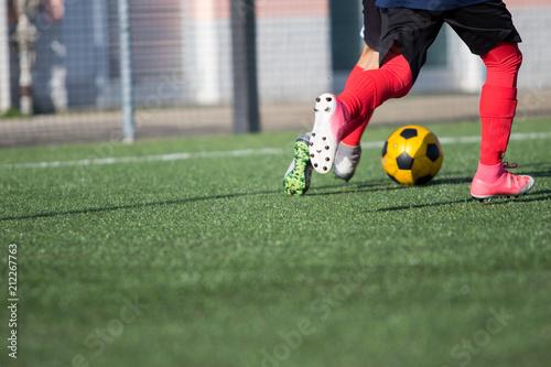 Fotografía  Calcio, azione di gioco e doppio passo