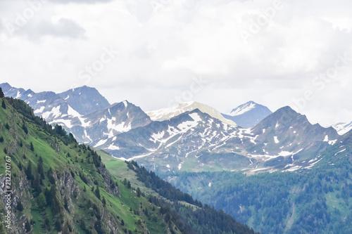 Foto op Plexiglas Alpen Foreground Slope