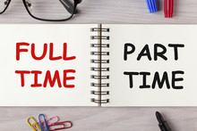 Part-time And Full-time