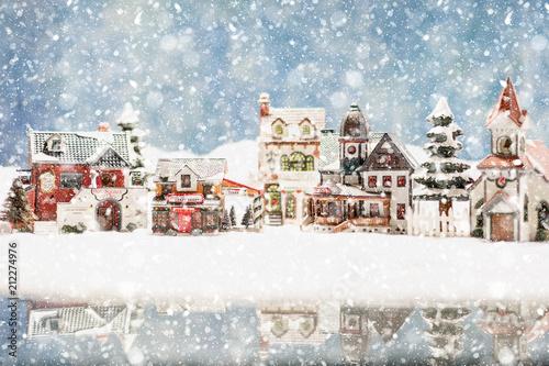 Carta da parati Santa's Village