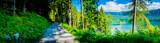 Fototapeta Perspektywa 3d - Eibsee - Germany