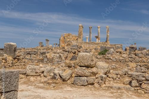Fotografie, Obraz  Roman Ruins in Morocco