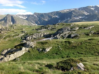 Fototapeta na wymiar Seven lakes mount, Bulgaria