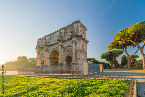 Arch of Constantine near colosseum, Rome Wallpaper Mural