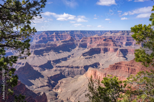 Grand canyon horizontal landscape