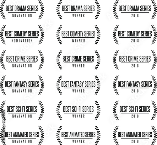 Movie award best tv show series genre nomination Slika na platnu