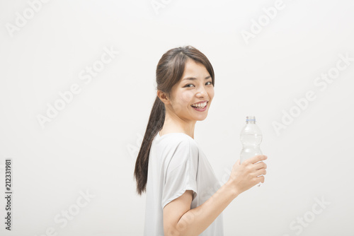 Fotografie, Obraz  休憩をする女性