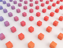 Multicoloured Cubes, Illustrat...
