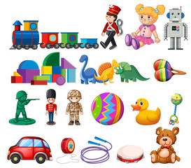 A Set of Childen Toys